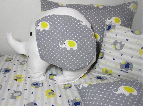 سرویس خواب 8 تکه کودک مدل Cute Elephant