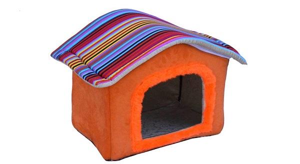جای خواب سگ و گربه دنیل طرح کلبه مدل 003