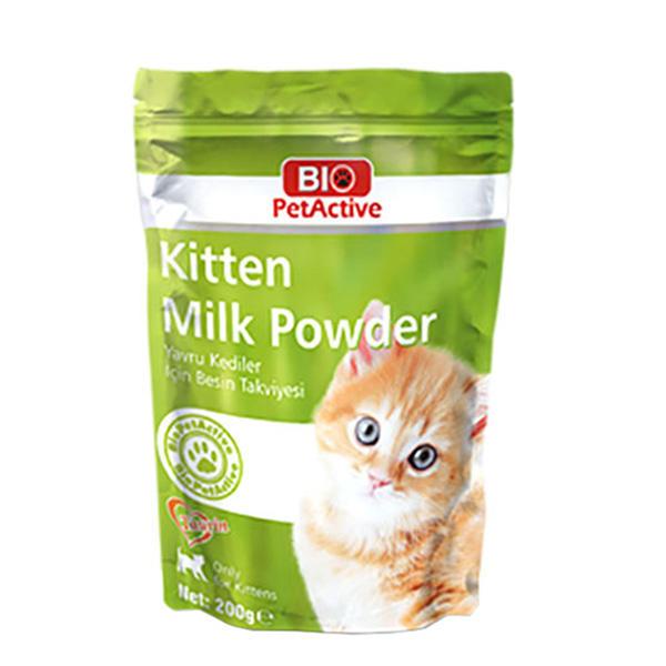 شیر خشک بچه گربه بایو پت اکتیو مدلKitten وزن ۲۰۰ گرم